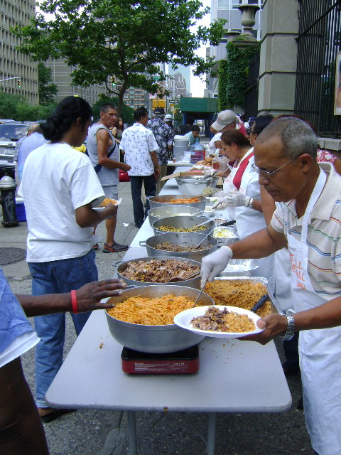 Feeding the Homeless in NYC